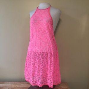 Victorias Secret Pink Sleep Dress Chemise Size L